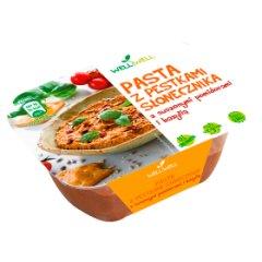 Well Well Pasta z pestkami słonecznika z suszonymi pomidorami i bazylią 125 g
