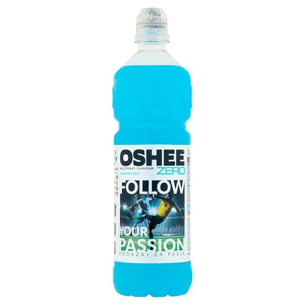 Oshee Zero Napój niegazowany o smaku wieloowocowym 0,75 l