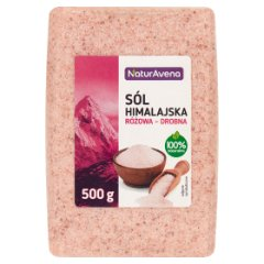 Sól himalajska różowa drobna.