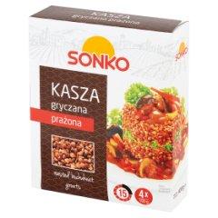 Sonko Kasza gryczana prażona 400 g (4 x 100 g)