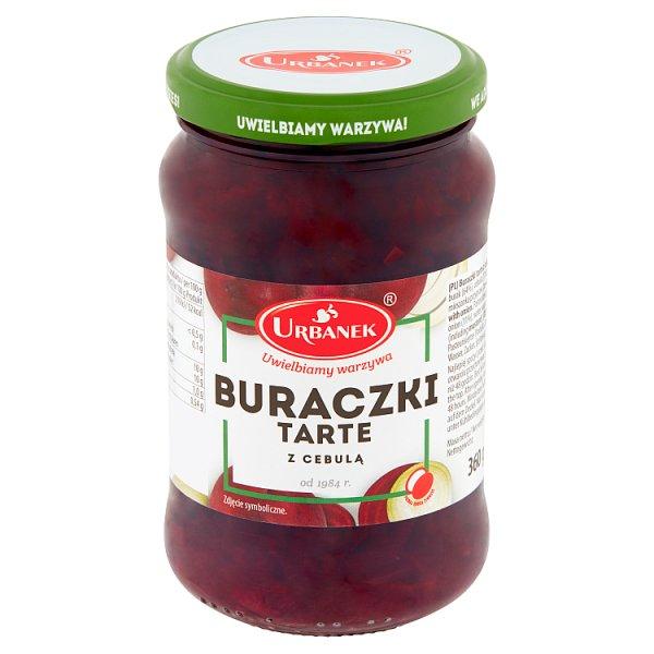 Urbanek Buraczki tarte z cebulą 360 g