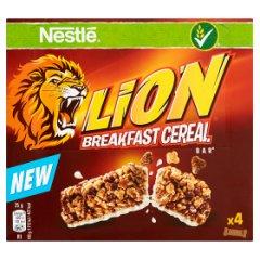 Nestlé Lion Śniadaniowy baton zbożowy 100 g (4 x 25 g)