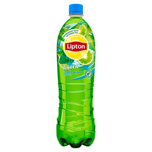 Napój lipton green lime & mint