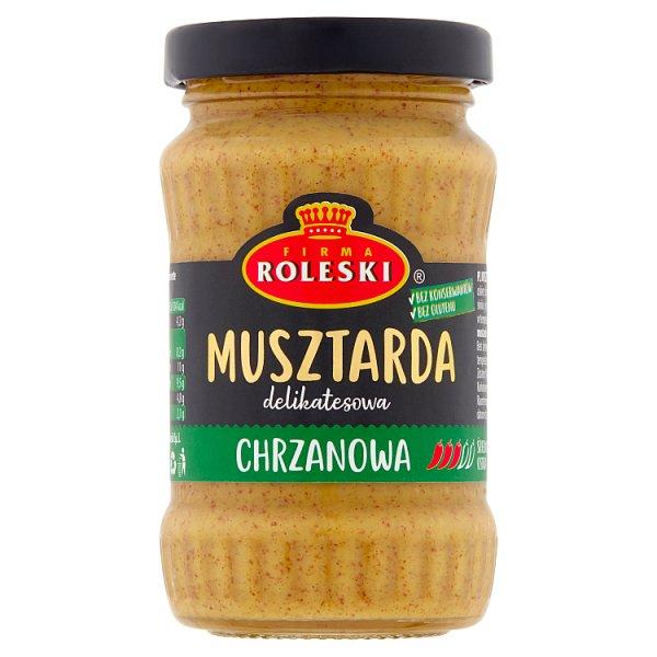 Firma Roleski Musztarda delikatesowa chrzanowa 175 g