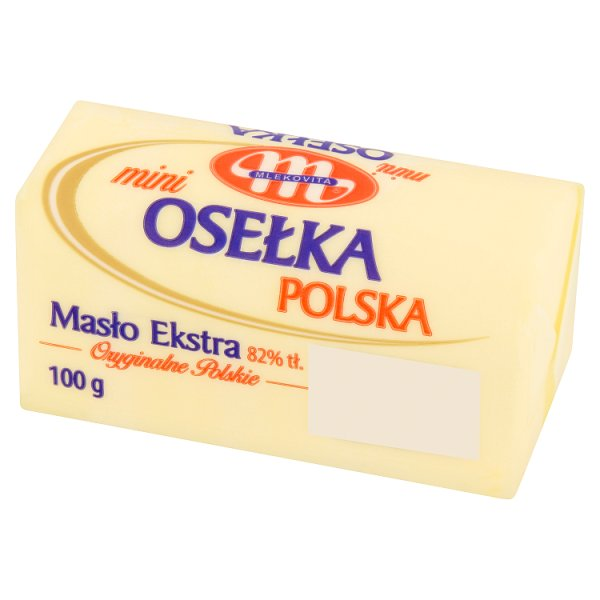 Mlekovita Masło ekstra mini osełka polska 100 g