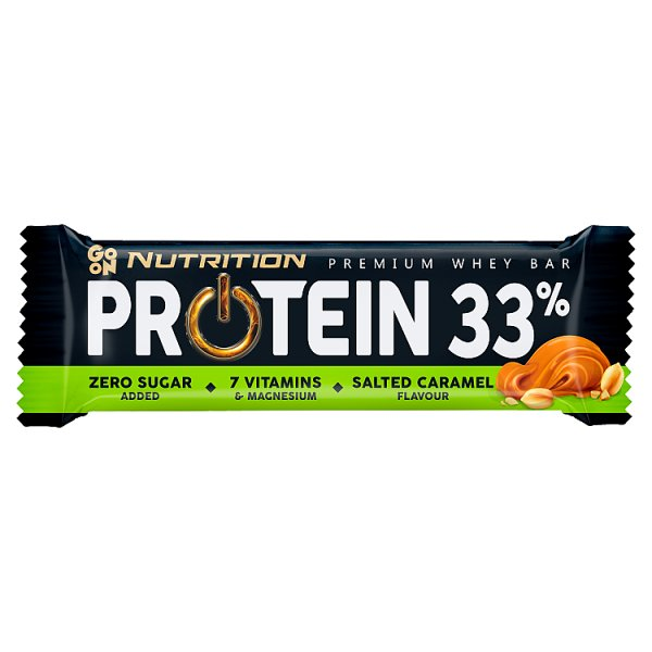 Sante Go On Protein 33% Baton o smaku słonego karmelu 50 g
