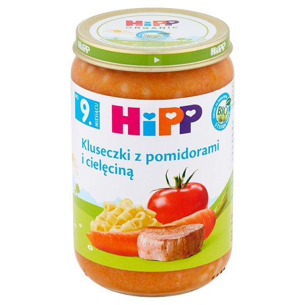 Danie Hipp kluseczki z pomidorami i cielęciną