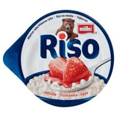 Deser Riso z truskawką