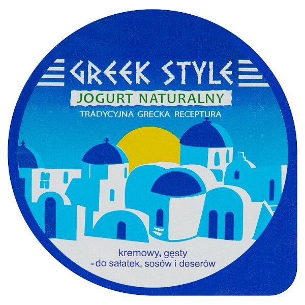Greek Style Jogurt naturalny 10% tłuszczu 180 g