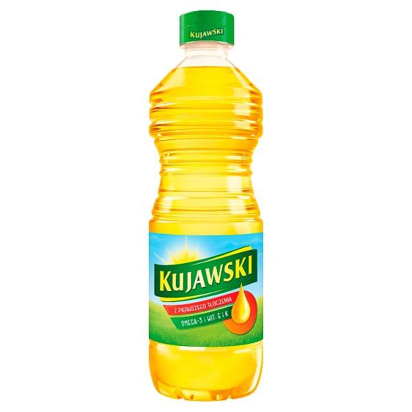 Kujawski Olej rzepakowy z pierwszego tłoczenia 500 ml