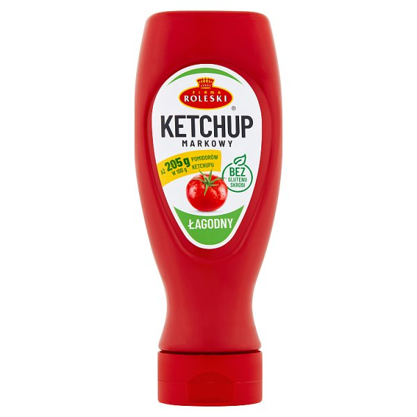 Firma Roleski Ketchup markowy łagodny 450 g