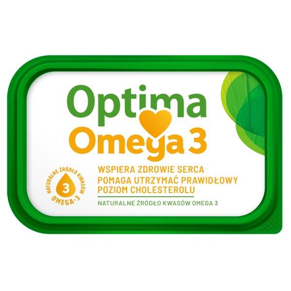 Optima Omega 3 Margaryna o zawartości trzech czwartych tłuszczu 400 g
