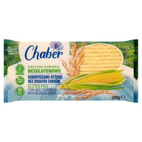 Pieczywo Chaber kukurydziano - ryżowe