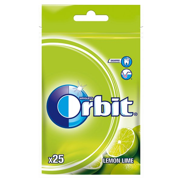 Guma orbit professional lemon lime  sugarfree /30g