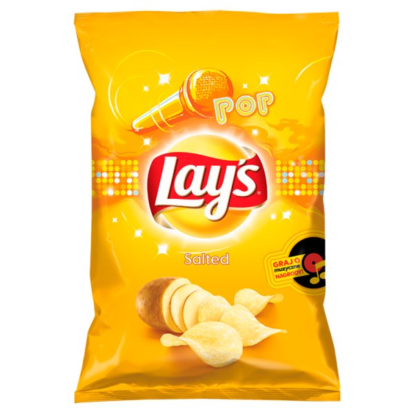 Chipsy Lay's naturalne solone