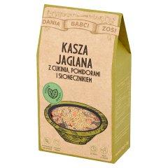 Dania Babci Zosi Kasza jaglana z cukinią pomidorami i słonecznikiem 250 g (2 x 125 g)