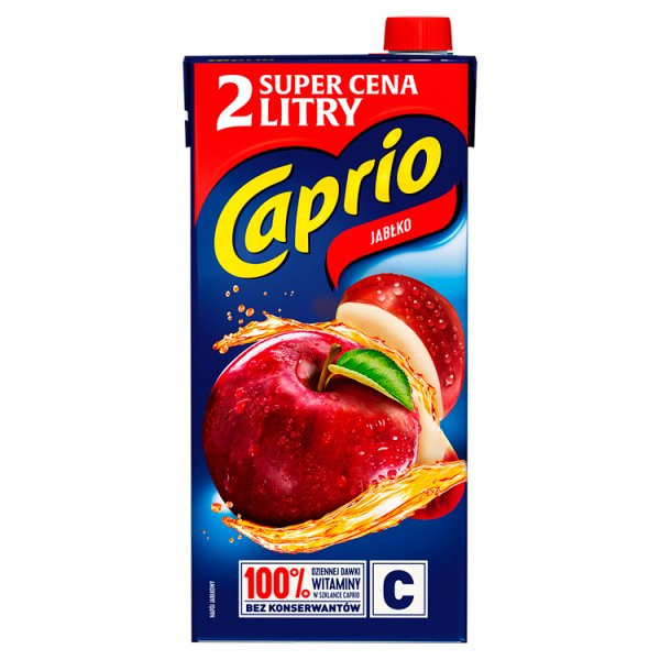 Caprio Napój jabłko 2 l