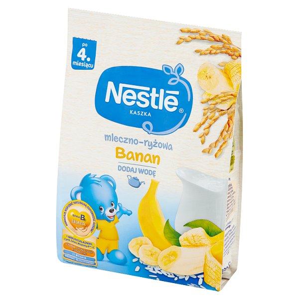 Kaszka Nestle mleczno-ryżowa z bananami