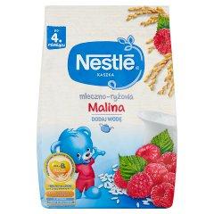 Nestlé Kaszka mleczno-ryżowa malina po 4 miesiącu 230 g