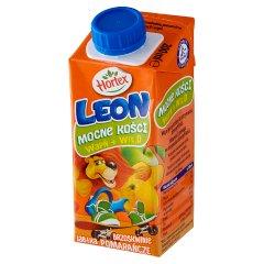 Napój Leon jabłka, brzoskwinie pomarańcze