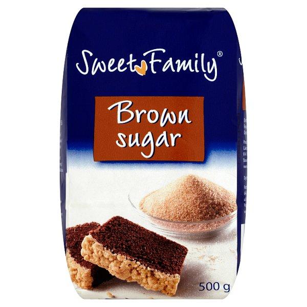 Sweet Family Cukier brązowy 500 g