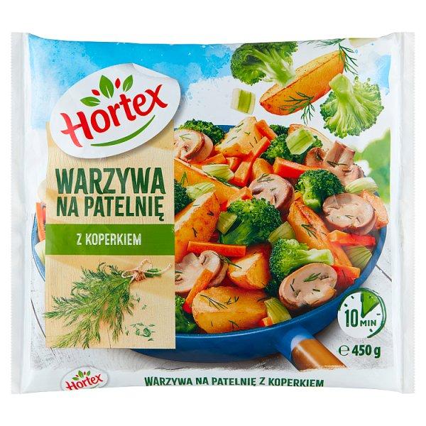 Hortex Warzywa na patelnię z koperkiem 450 g
