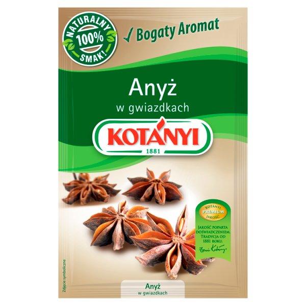 Kotányi Anyż w gwiazdkach 8 g