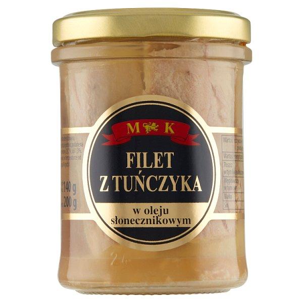 MK Filet z tuńczyka w olej słonecznikowym 200 g