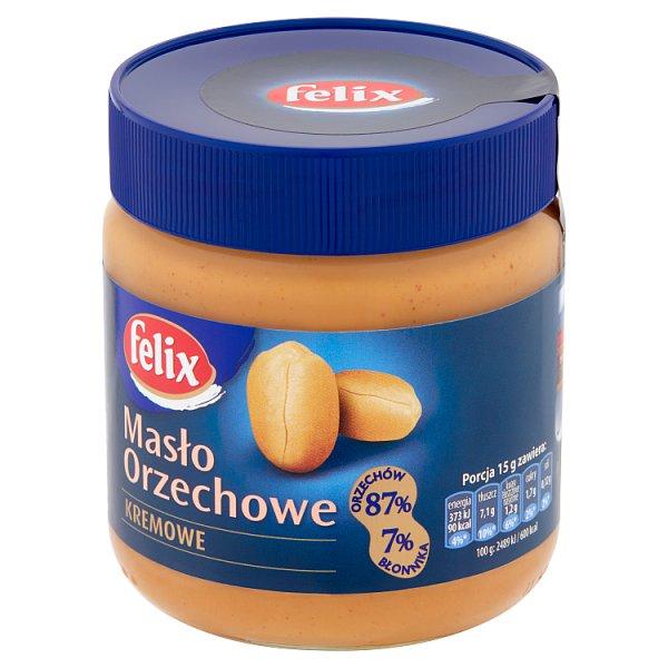 Masło Felix orzechowe kremowe