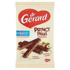 dr Gerard PryncyPałki Wafelki z kremem o smaku orzechów laskowych w czekoladzie 214 g