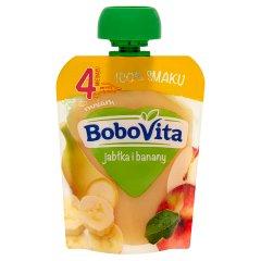 BoboVita Jabłka i banany po 4 miesiącu 80 g