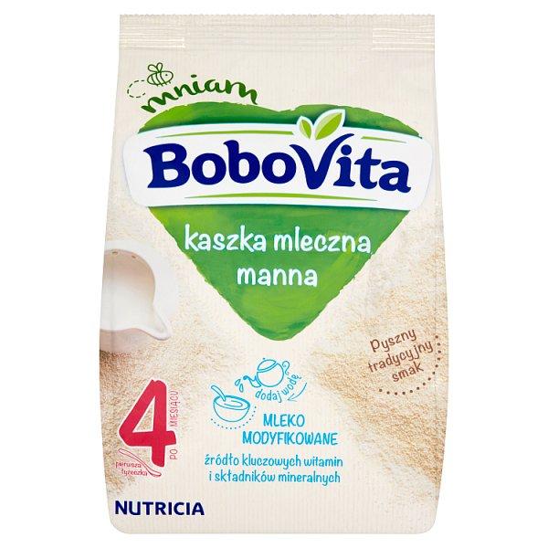 BoboVita Kaszka mleczna manna po 4 miesiącu 230 g