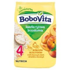 Kaszka BoboVita ryżowa o smaku brzoskwiniowym