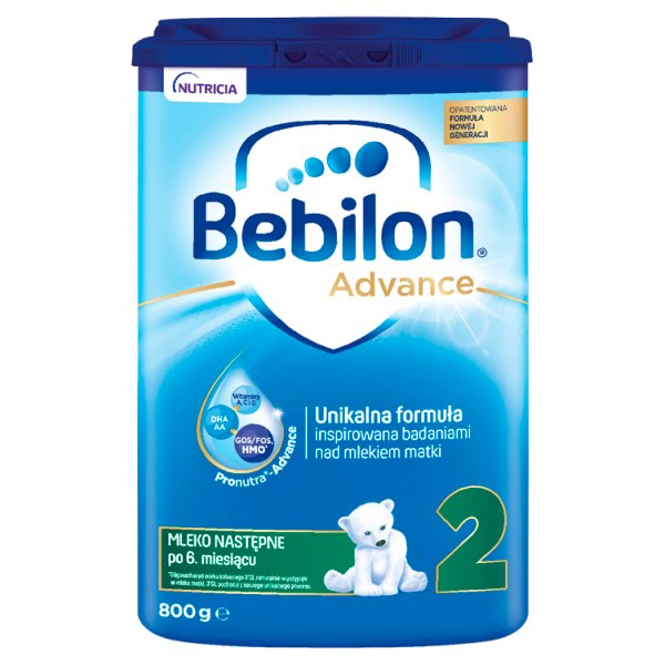 Bebilon 2 Pronutra-Advance Mleko następne po 6. miesiącu 800 g