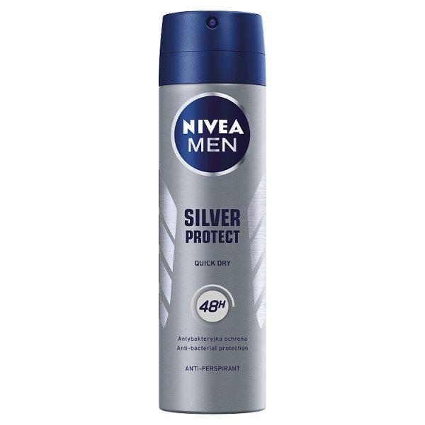 NIVEA MEN Silver Protect Antyperspirant w aerozolu 150 ml