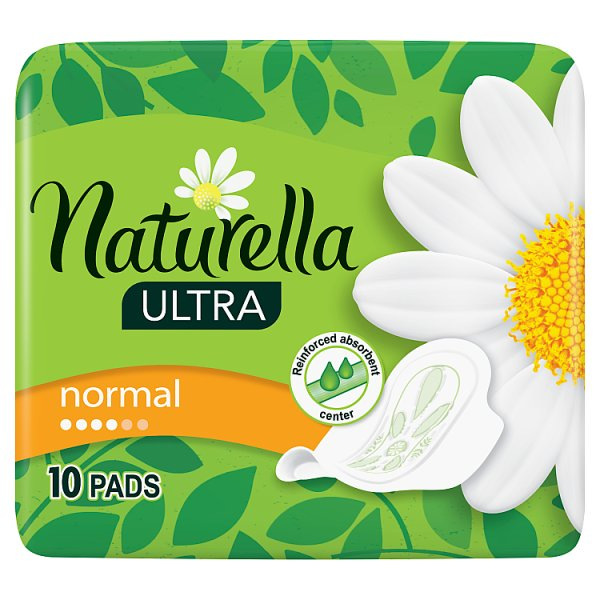 Naturella Ultra Normal  Camomile Podpaski zeskrzydełkami x10