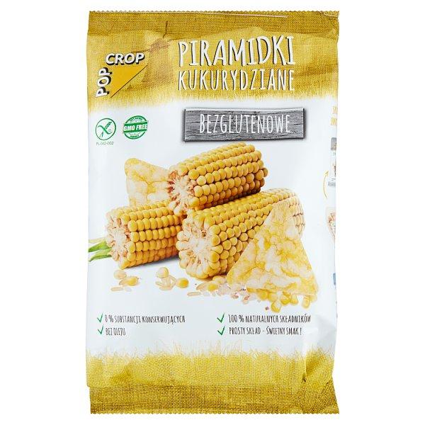 Pop Crop Piramidki kukurydziane bezglutenowe 80 g