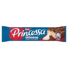 Princessa Intense Dark Coconut Wafel z kremem kokosowym oblany czekoladą deserową 30 g