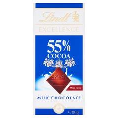 Czekolada Excellence supermilk 55%