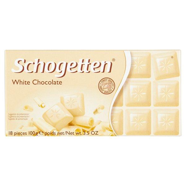 Schogetten Czekolada biała 100 g
