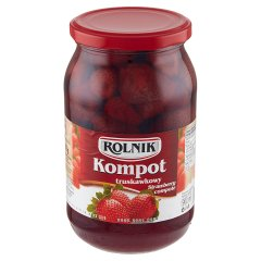Rolnik Kompot truskawkowy 850 g