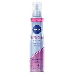 NIVEA Diamond Gloss Care Pianka do włosów 150 ml