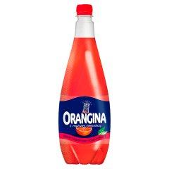 Orangina Napój gazowany smak czerwonej pomarańczy 1,4 l