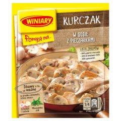 Winiary Pomysł na... Kurczak w sosie z pieczarkami 32 g