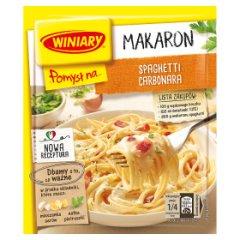 Winiary Pomysł na... Makaron spaghetti Carbonara 34 g