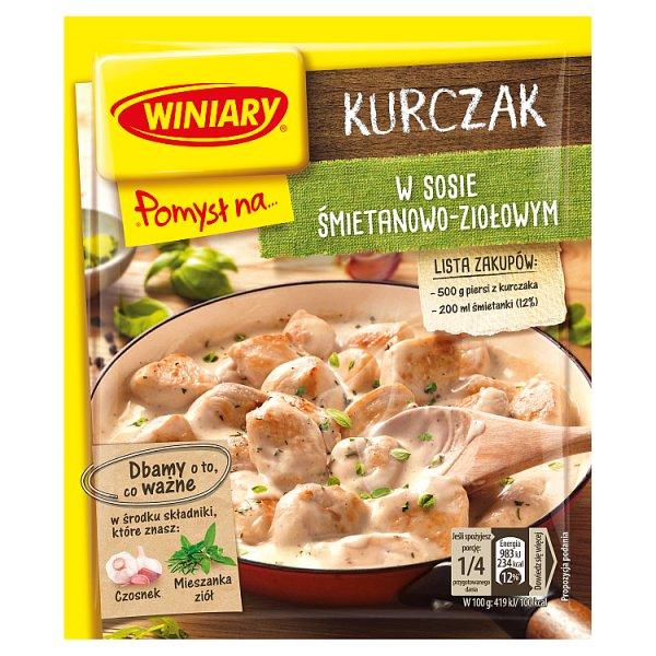 Winiary Pomysł na... kurczaka w Sosie śmietanowym