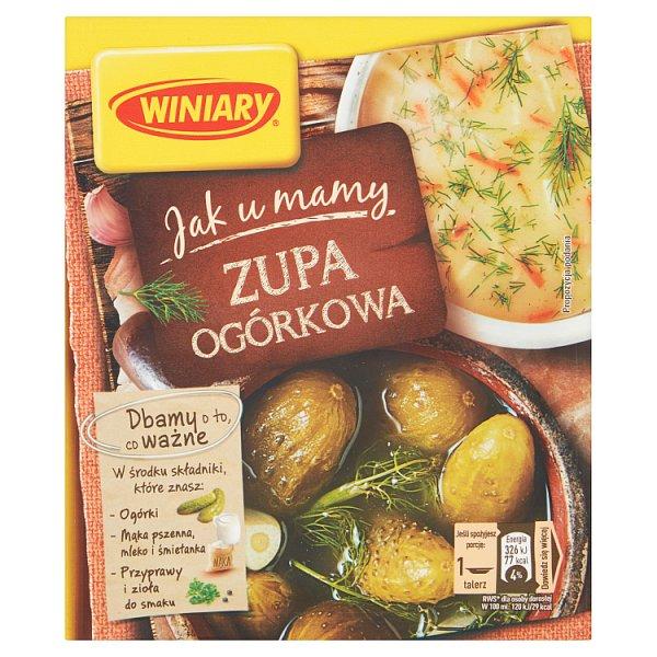 Winiary Jak u Mamy Zupa ogórkowa 42 g