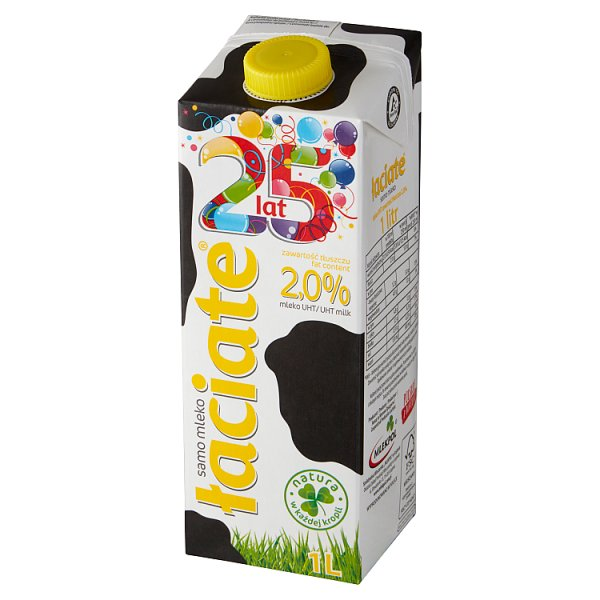 Łaciate Mleko UHT 2,0% 1 l