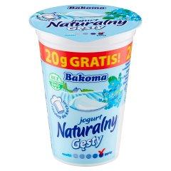 Bakoma Jogurt naturalny gęsty 170 g