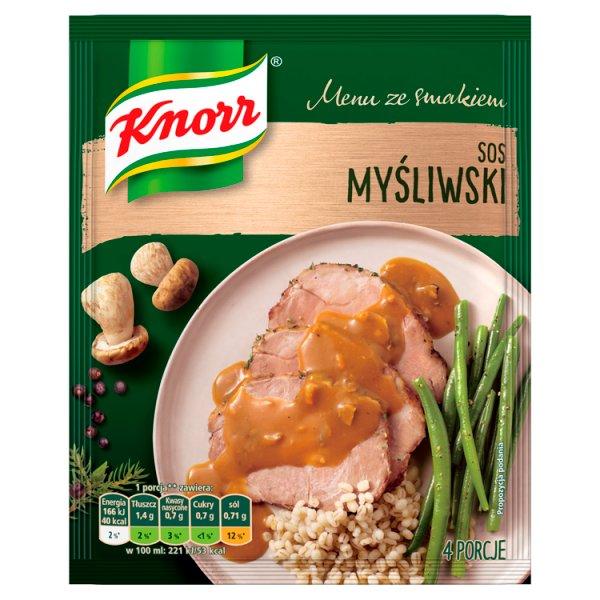 Knorr Menu ze smakiem Sos myśliwski 37 g